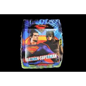 Tortera Batman y Superman Paquete x12