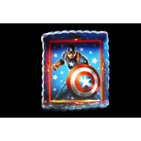 Tortera Capitán América Paquete x12 NK