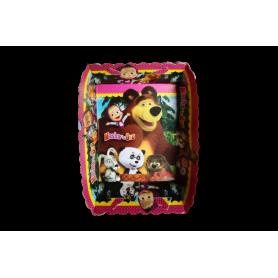 Tortera Masha y el Oso Paquete x12