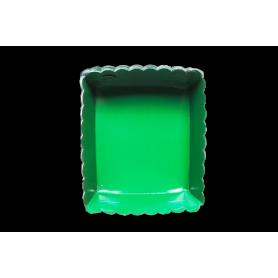 Tortera Verde Navidad Paquete x12