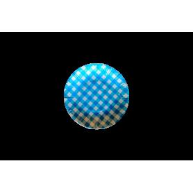 Plato Picnic Azul Paquete x 12
