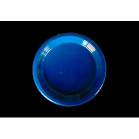 Plato Fondo Entero Azul Real Paquete x10