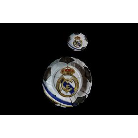 Plato y Portavaso Real Madrid Paquete x12