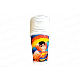 Vaso Superman Paquete x12