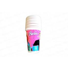 Vaso Barbie Paquete x12
