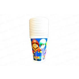 Vaso Mario Party Paquete x12