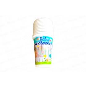 Vaso Baby Shower Niño Paquete x12