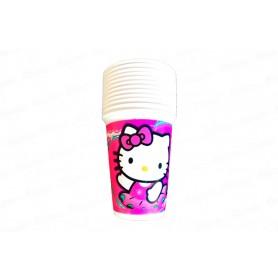 Vaso Hello Kitty Paquete x12