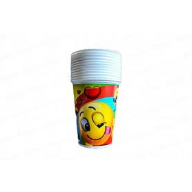 Vaso Emoticones CyM Paquete x 12