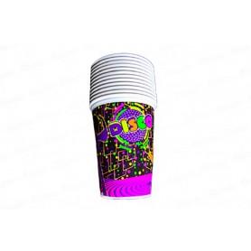 Vaso Disco CyM Paquete x 12
