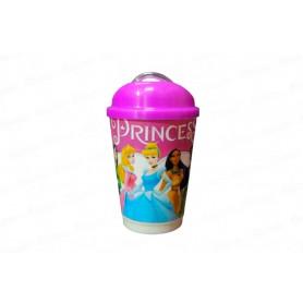 Vaso Pitillo Princesas
