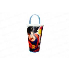 Vaso Pitillo de 13 Cm Dragon Ball Z