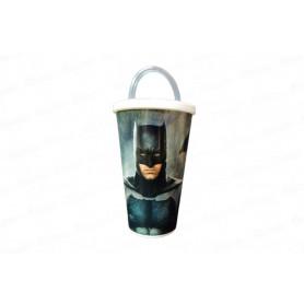 Vaso Pitillo de 13 Cm Batman