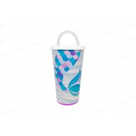 Vaso Pitillo de 13 cm Sirena