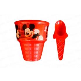 Vaso Helado Mickey