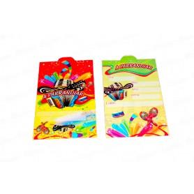 Tarjeta de Invitación Vallenato Paquete x12