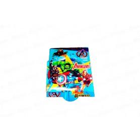 Tarjeta de Invitación Avengers Paquete x12