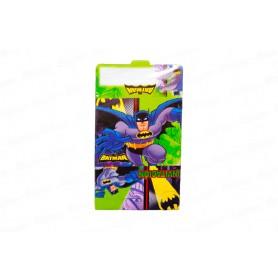 Tarjeta de Invitación Batman Paquete x12