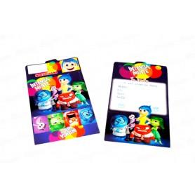 Tarjeta de Invitaciones Intensamente Paquete x12