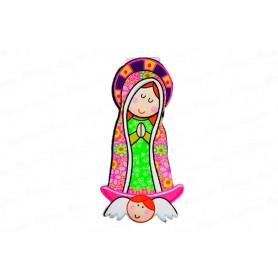 Tarjeta de Invitación Virgen de Guadalupe CyM Paquete x12