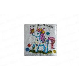 Servilleta Unicornio Paquete x 20