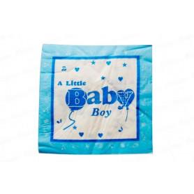 Servilleta Baby Shower Niño Paquete x20
