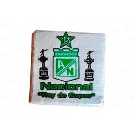 Servilleta  Atletico Nacional Paquete x20