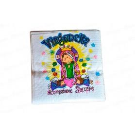 Servilleta Virgen de Guadalupe Paquete x20